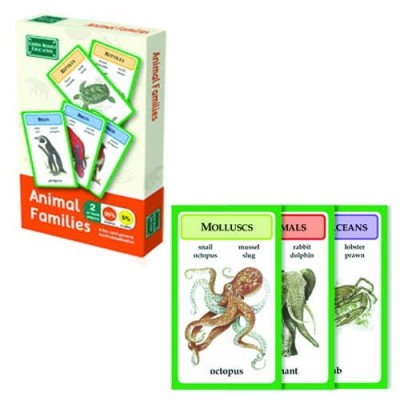 THE GREEN BOARD GAME CO. Animal Families