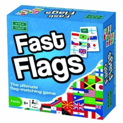 THE GREEN BOARD GAME CO. Fast Flags