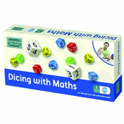 THE GREEN BOARD GAME CO. Dicing With Maths