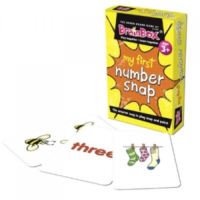 THE GREEN BOARD GAME CO. My First Number Snap