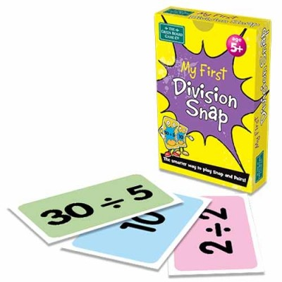 THE GREEN BOARD GAME CO. My First Division Snap