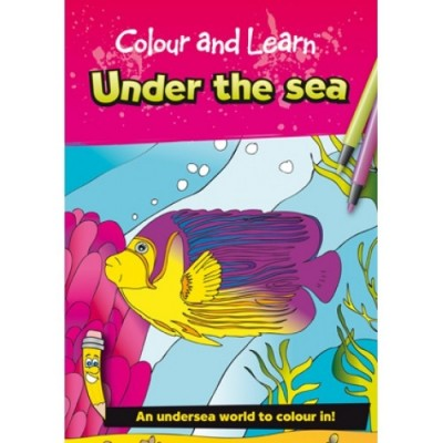 THE GREEN BOARD GAME CO. Colour & Learn Under The Sea