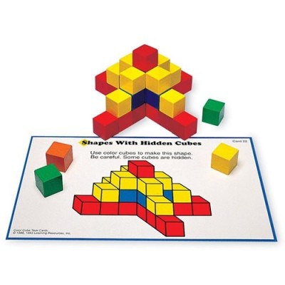 LEARNING RESOURCES Creative Color Cube Activity Set