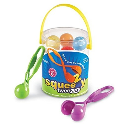 LEARNING RESOURCES Squeezy Tweezers