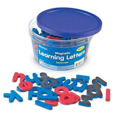 LEARNING RESOURCES Magnetic Learning Letters: Lowercase
