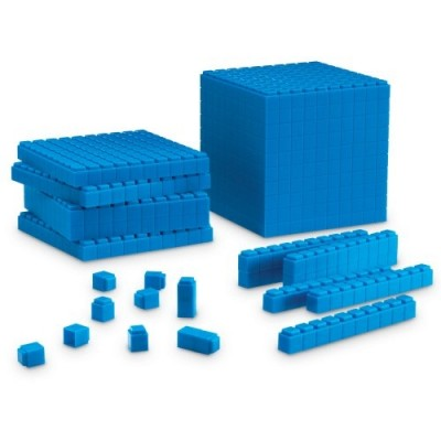 LEARNING RESOURCES Interlocking Base Ten Starter Set
