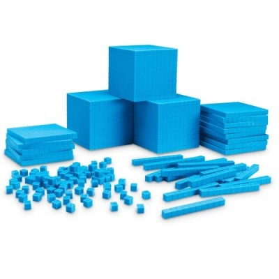 LEARNING RESOURCES Interlocking Base Ten Class Set