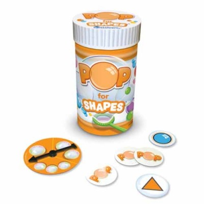 LEARNING RESOURCES Pop for Shapes Game