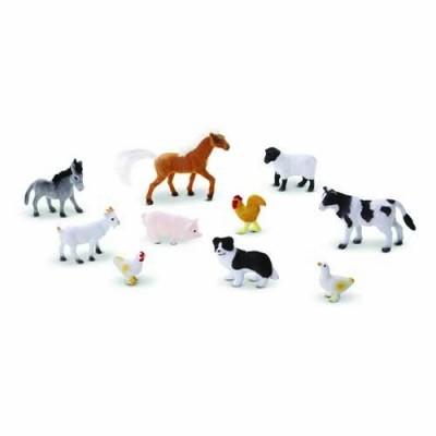 MELISSA & DOUG Farm Friends - 10 Collectible Farm Animals