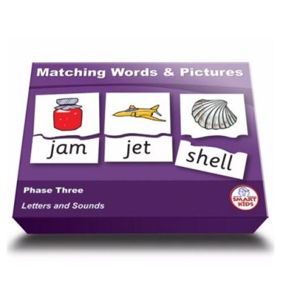 SMARTKIDS Matching Words & Pictures Phase Three