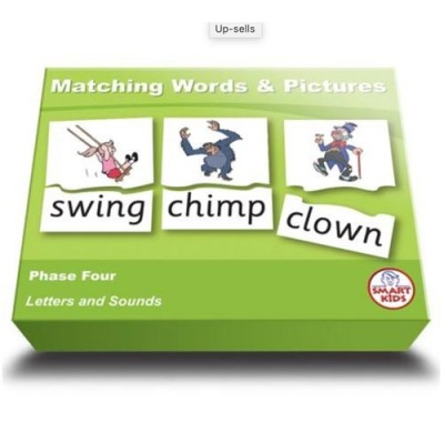 SMARTKIDS Matching Words & Pictures Phase Four