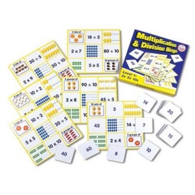 SMARTKIDS Multiplication & Division Bingo Level 1