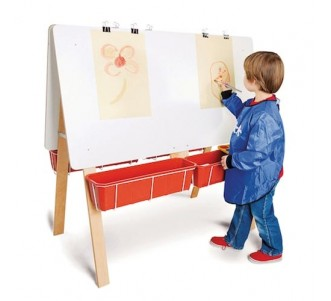 TTS Four Person Classroom Easel