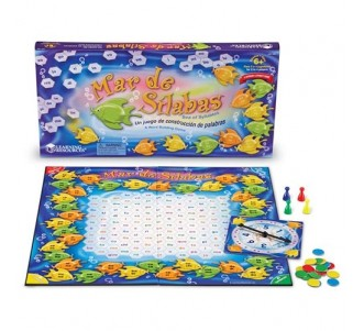 LEARNING RESOURCES Mar de Sílabas (Sea of Syllables) Game