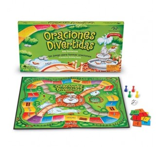 LEARNING RESOURCES ¡Oraciónes Divertidas! (Silly Sentences) Game