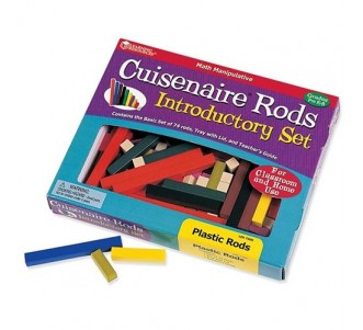 LEARNING RESOURCES Plastic Cuisenaire Rods Introductory Set