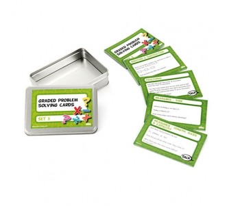 TTS Graded Maths Problem Solving Cards 100pk Set 3