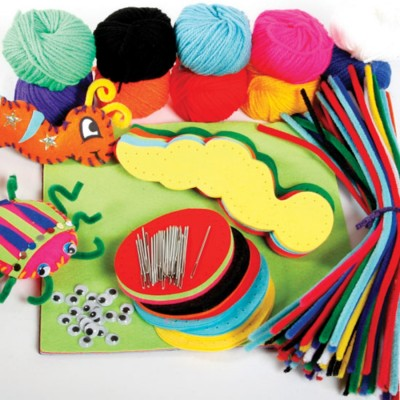 TTS Make Your Own Felt Bugs 30pk