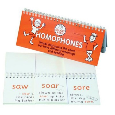 SMART KIDS Homophones - Flip Book