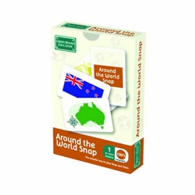 THE GREEN BOARD GAME CO. Around The World Snap Pack 1