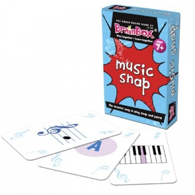 THE GREEN BOARD GAME CO. Music Snap