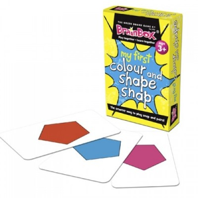 THE GREEN BOARD GAME CO. My First Colour & Shape Snap