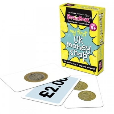 THE GREEN BOARD GAME CO. My First UK Money Snap