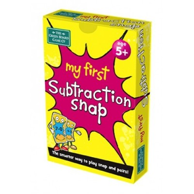 THE GREEN BOARD GAME CO. My First Subtraction