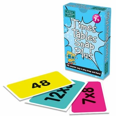 THE GREEN BOARD GAME CO. Time Tables Plus Snap