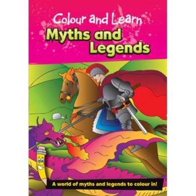 THE GREEN BOARD GAME CO. Colour & Learn Myths & Legends