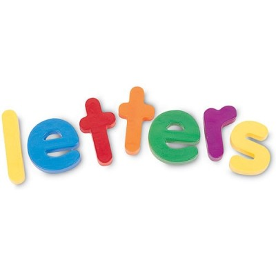 LEARNING RESOURCES Jumbo Lowercase Magnetic Letters