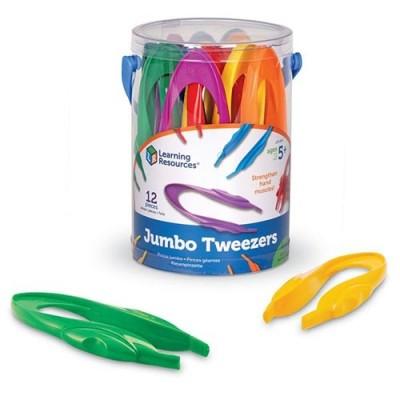 LEARNING RESOURCES Jumbo Tweezers, Set of 12