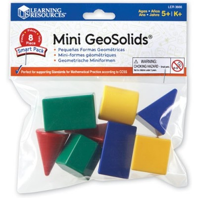 LEARNING RESOURCES Mini Geosolids Smart Pack
