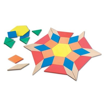 LEARNING RESOURCES Giant Foam Floor Pattern Blocks
