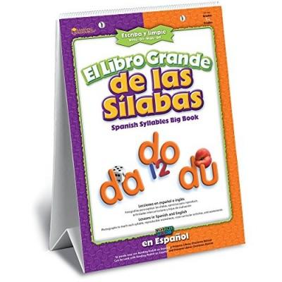 LEARNING RESOURCES El Libro Grande de las Sílabas (Spanish Syllables Big Book)