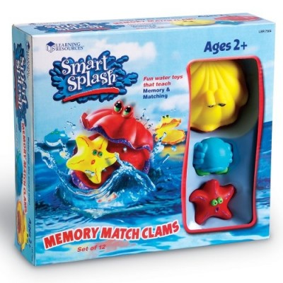 LEARNING RESOURCES Smart Splash Memory Match Clams