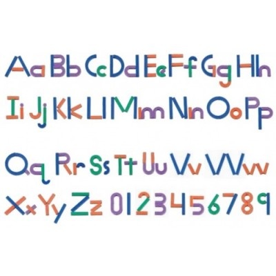 LEARNING RESOURCES Magnetic Letter Construction