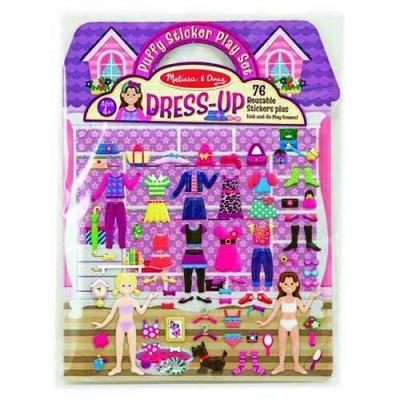 MELISSA & DOUG Puffy Sticker Play Set - Dress-Up