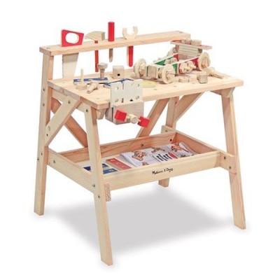 MELISSA & DOUG Wooden Project Workbench