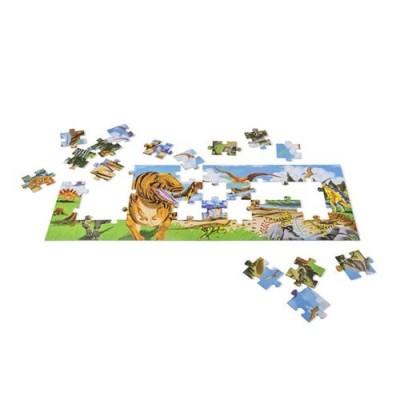 MELISSA & DOUG Land of Dinosaurs Floor (48 pc)