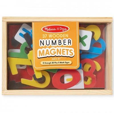 MELISSA & DOUG Magnetic Wooden Numbers