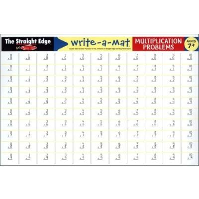 MELISSA & DOUG Multiplication Problems Write-A-Mat