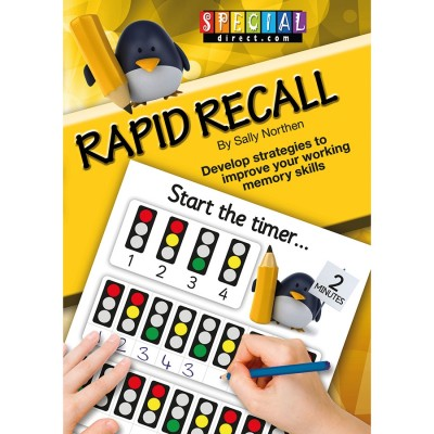 TTS Rapid Recall Memory Skills Worksheet Book