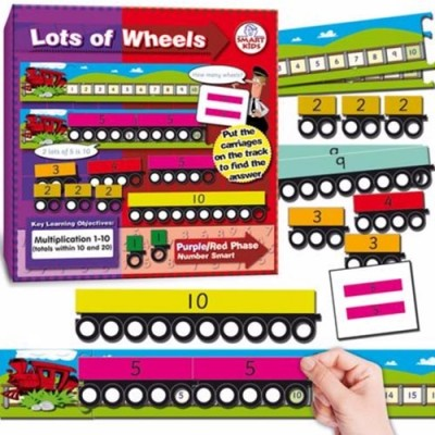 SMARTKIDS Lots of Wheels (to 20)
